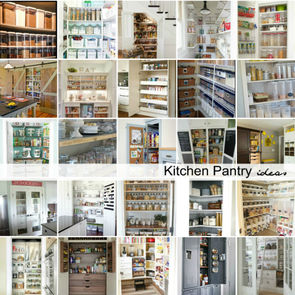 51 Pictures Of Kitchen Pantry Designs Ideas: 20 Kitchen Pantry Ideas To Organize Your Pantry