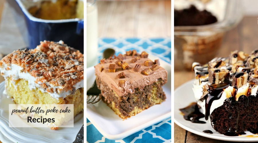 peanut butter poke cake recipes