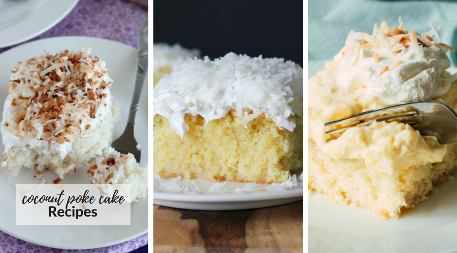 coconut poke cake recipes