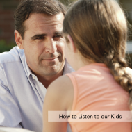 How to Listen to our Kids