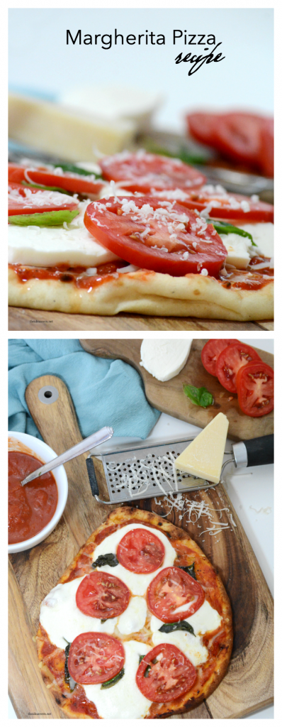 Recipes | This Margherita Pizza Recipe is delicious and makes an easy dinner for those busy weeknights. Print out our printable recipe and make it tonight!