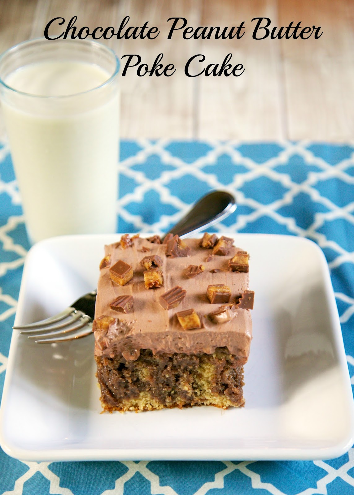 peanut butter poke cake (1)A