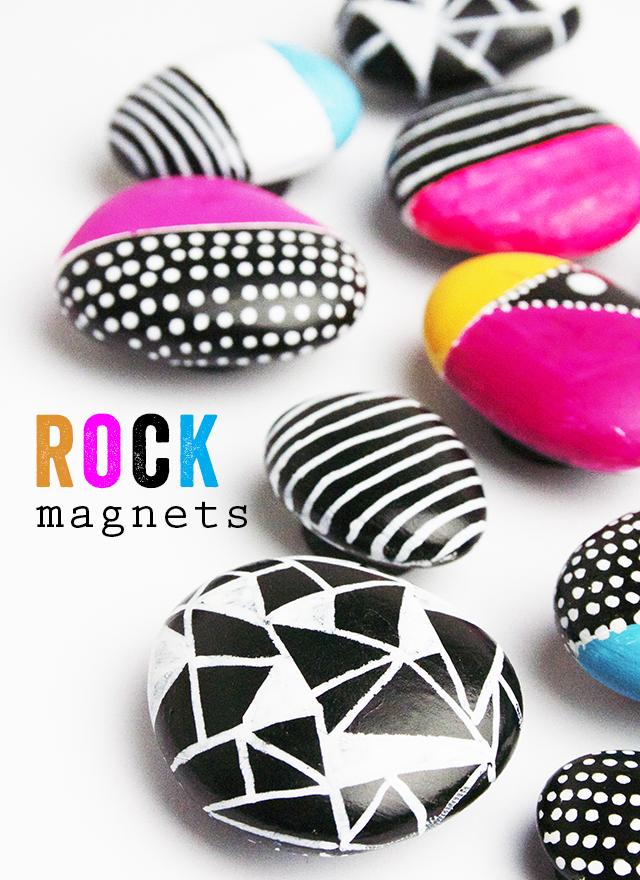 rock magents DIY
