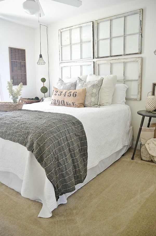 use-old-windows-as-a-headboard