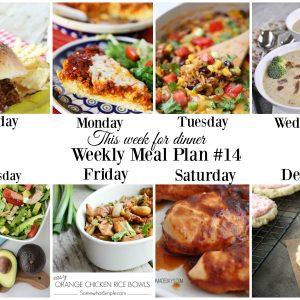 weekly meal plan 14