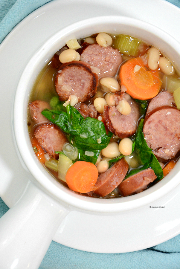 white-bean-sausage-spinach-soup 1