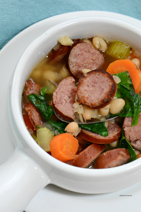 white-bean-sausage-spinach-soup 2