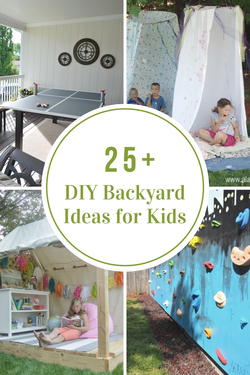 Diy backyard ideas for kids the idea room for Ideas for your backyard