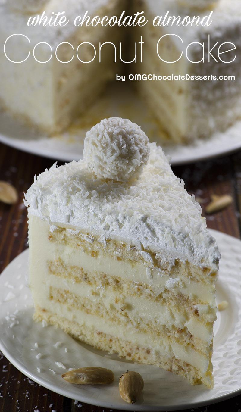 Coconut Spice Cake In Sheet Pan