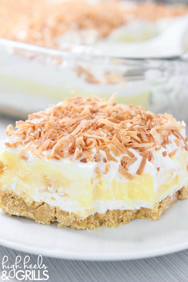 Best Toasted Coconut Cake Recipe