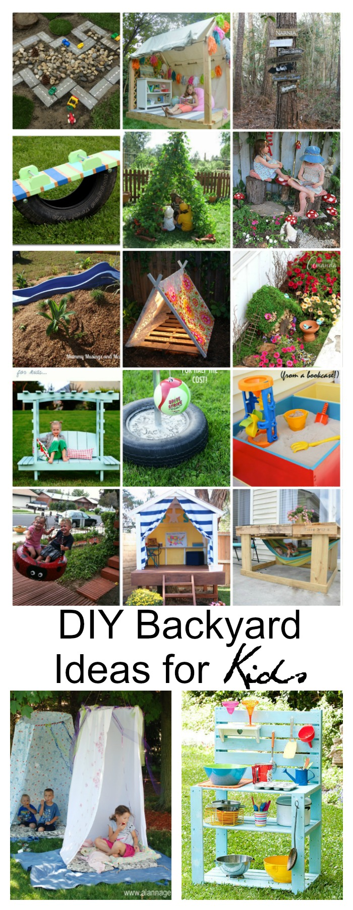 Diy Backyard Ideas For Kids The Idea Room