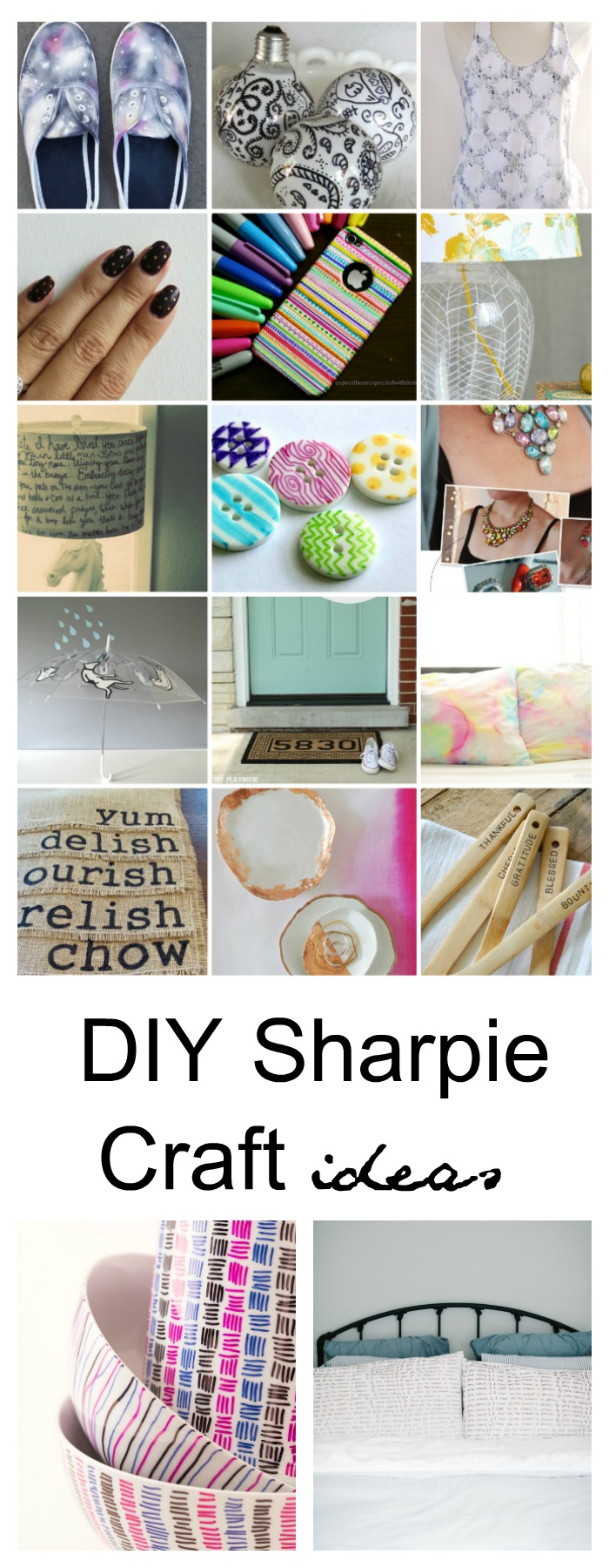 Craft ideas with sharpies - Diy Sharpie Craft Ideas Pin