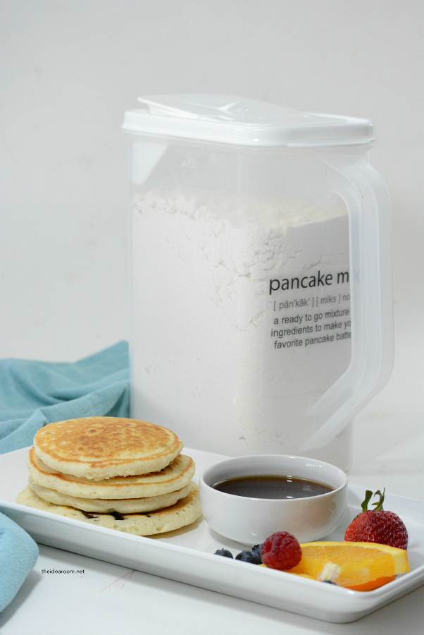 Pancake Recipes | Make your own Homemade Pancake Mix. Perfect for a quick and easy breakfast when needed and without all the preservatives!