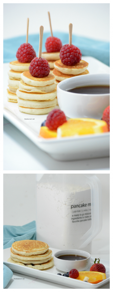 Recipes | Make your own Homemade Pancake Mix. Perfect for a quick and easy breakfast when needed and without all the preservatives!