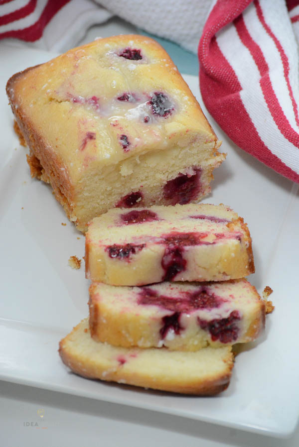 Lemon Raspberry Loaf Bread Recipe The Idea Room