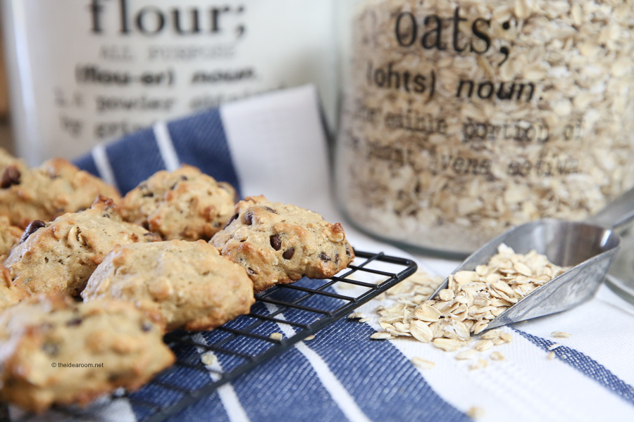 banana recipes oatmeal cookies