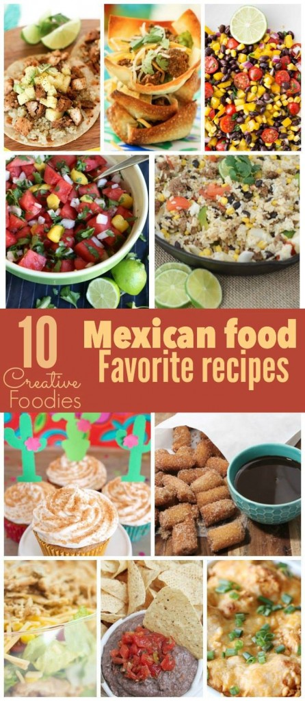10 Mexican Favorite Recipes