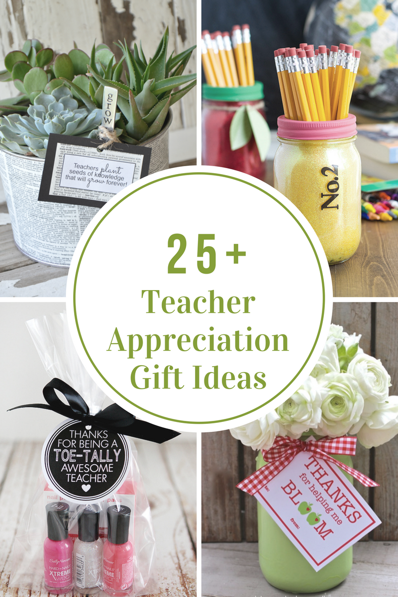 Gifts For Friends At Christmas: Teacher Appreciation Gift Ideas