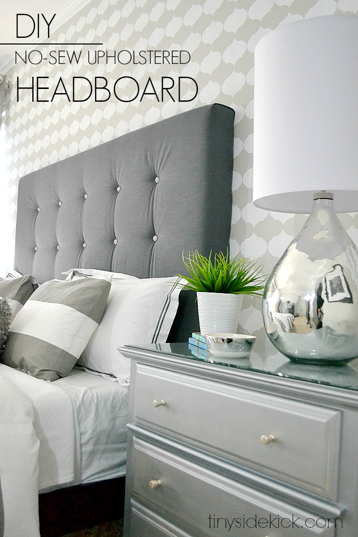 DIY Headboard Project Ideas - The Idea Room