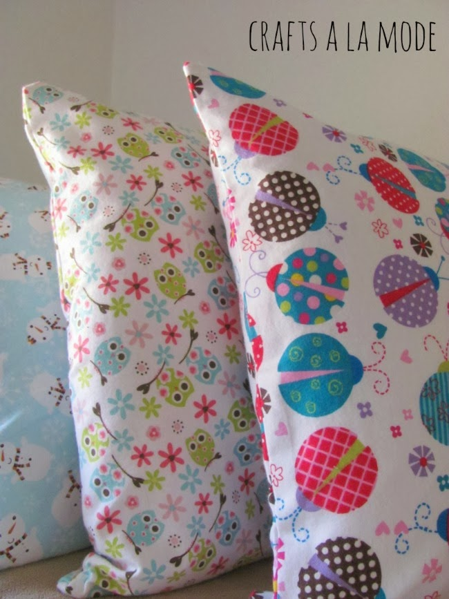 Flannel kid's pillowcases650