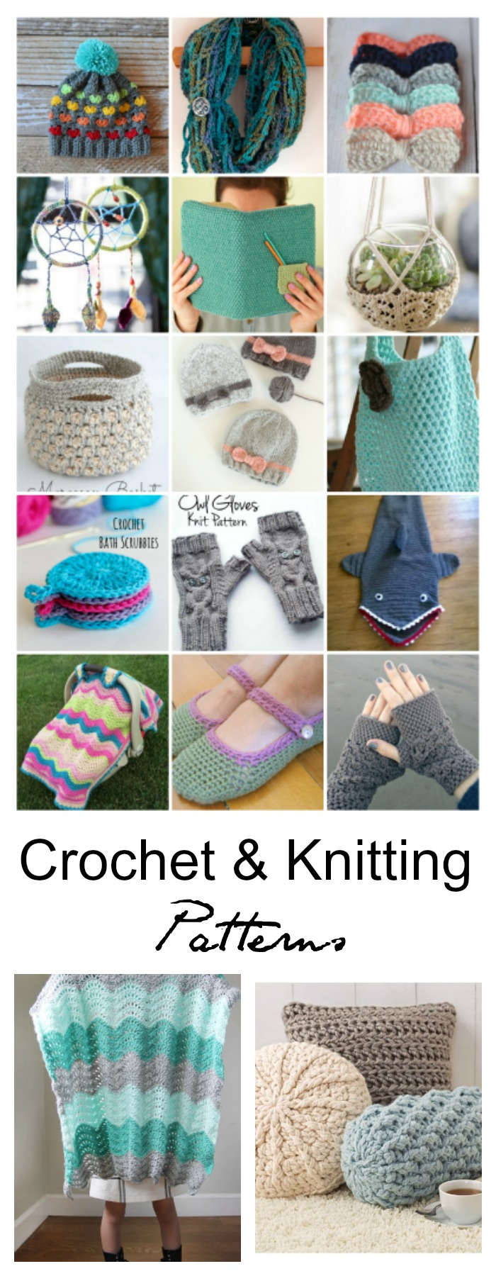 Free-Crochet-Knitting-Patterns-Pin