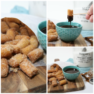 Homemade Churro Bites