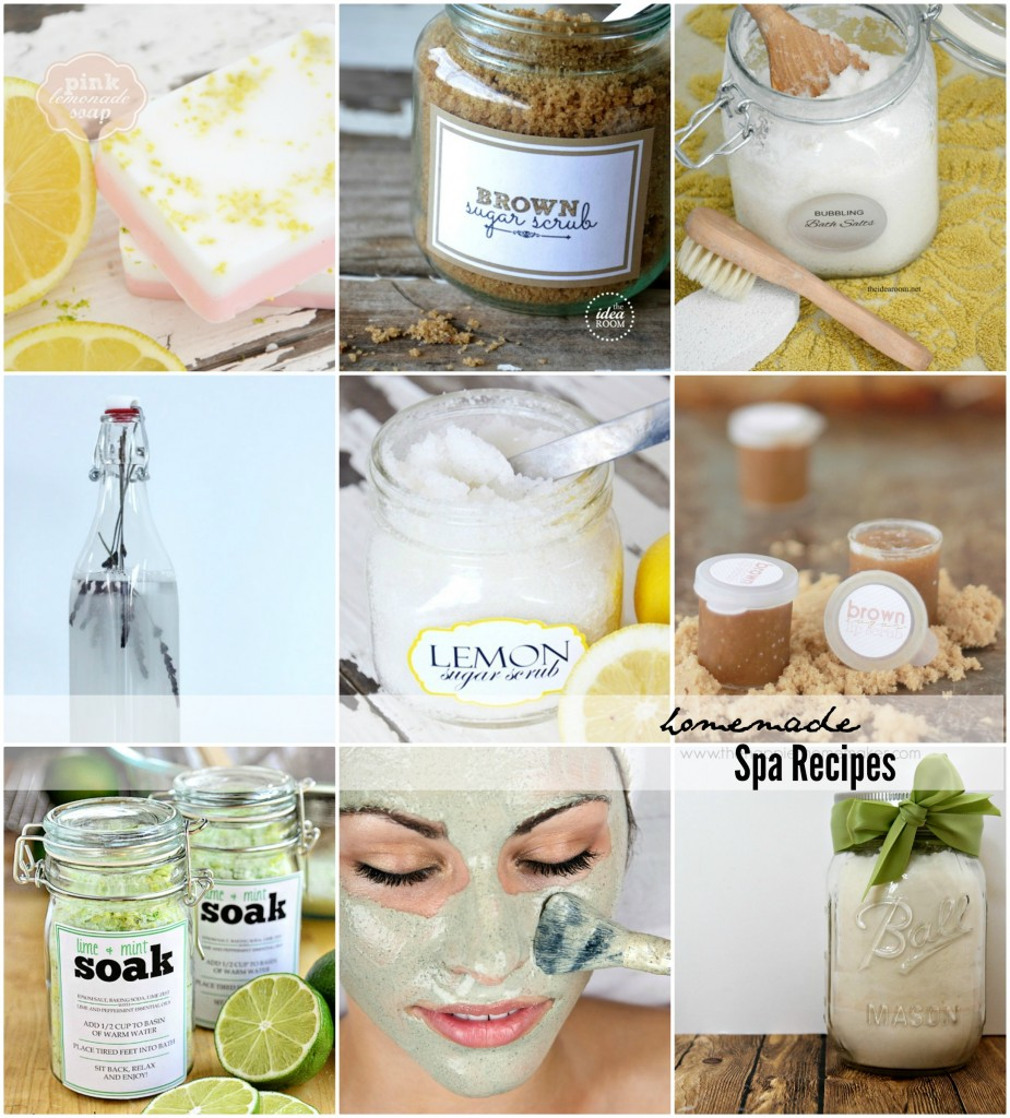 Homemade Spa Recipes For Hair