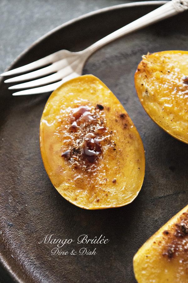 Mango-Brulee