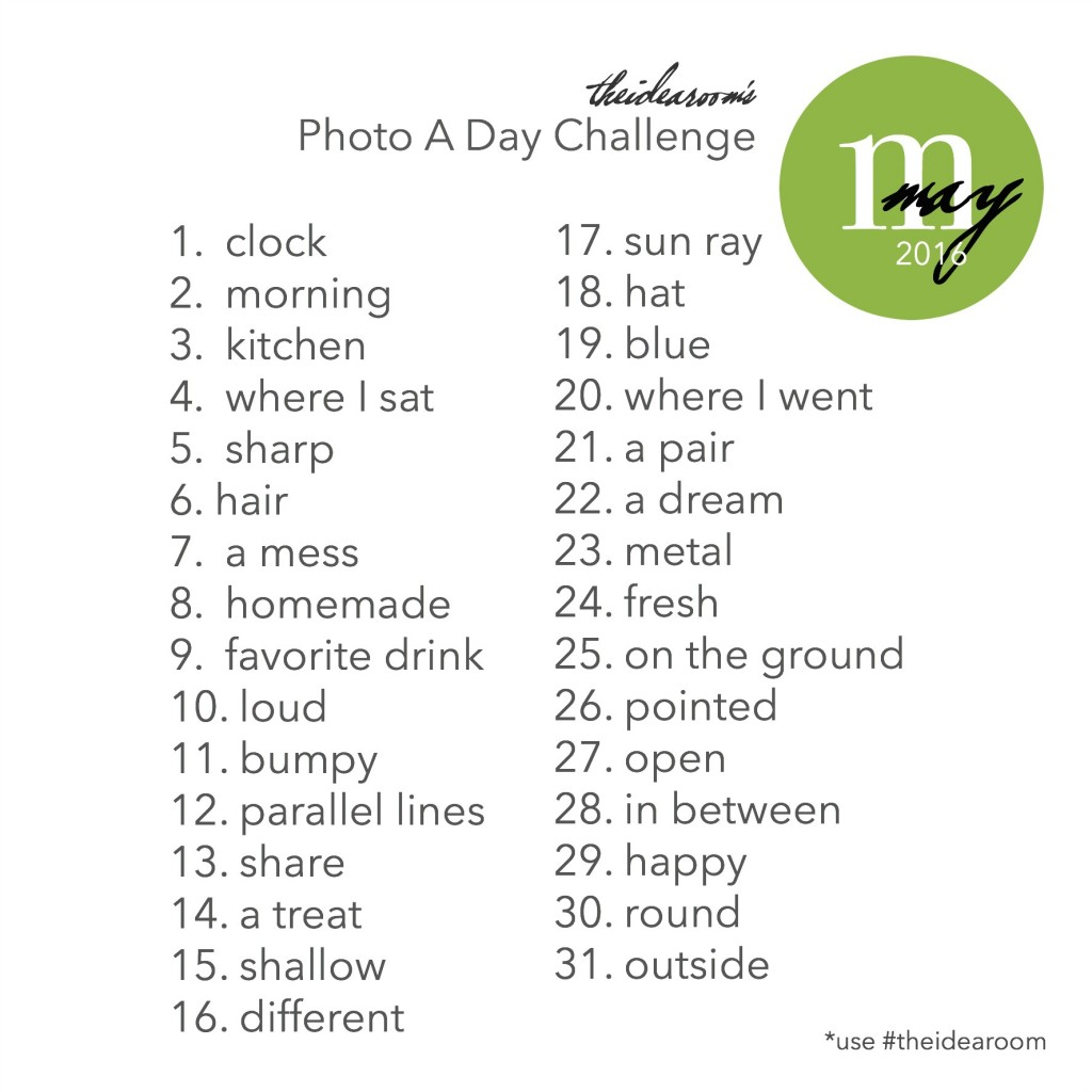May Photo A Day 2016 Final