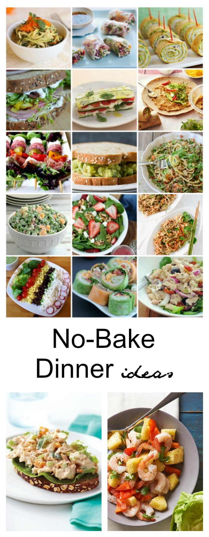 No-Bake-Dinner-Ideas-Pin