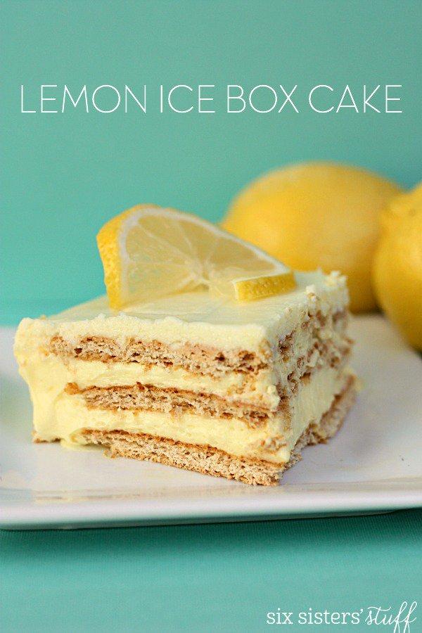 No-Bake-Lemon-Ice-Box-Cake-on-SixSistersStuff
