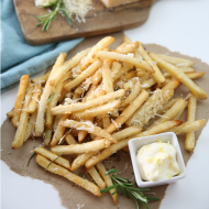 Rosemary Parmesan Baked Fries
