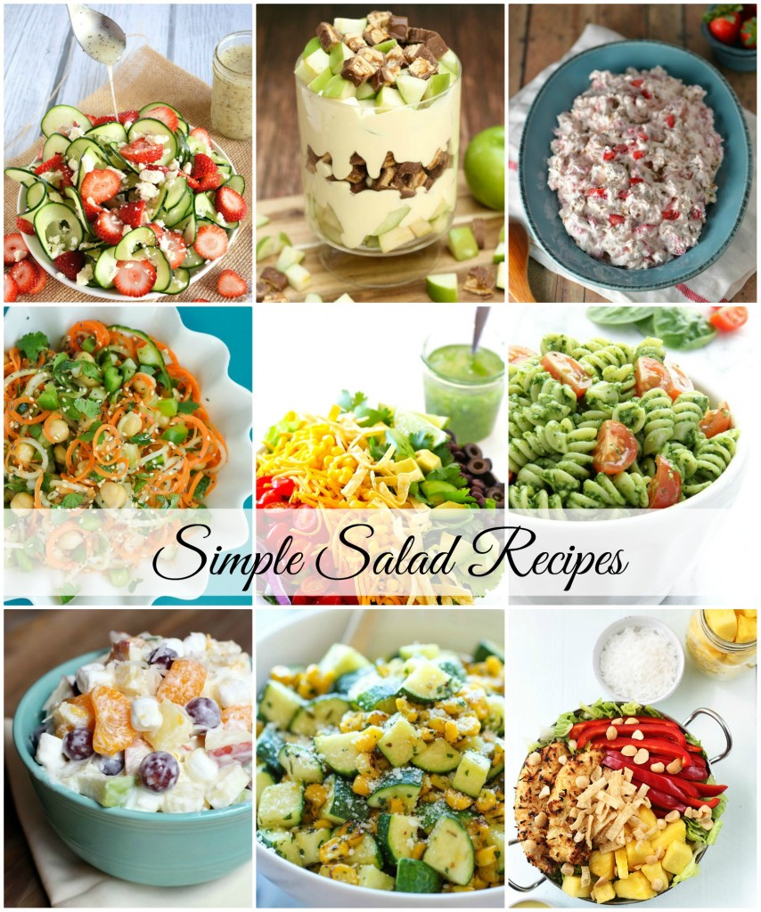 No cook dinner ideas the idea room for Easy salad ideas for bbq