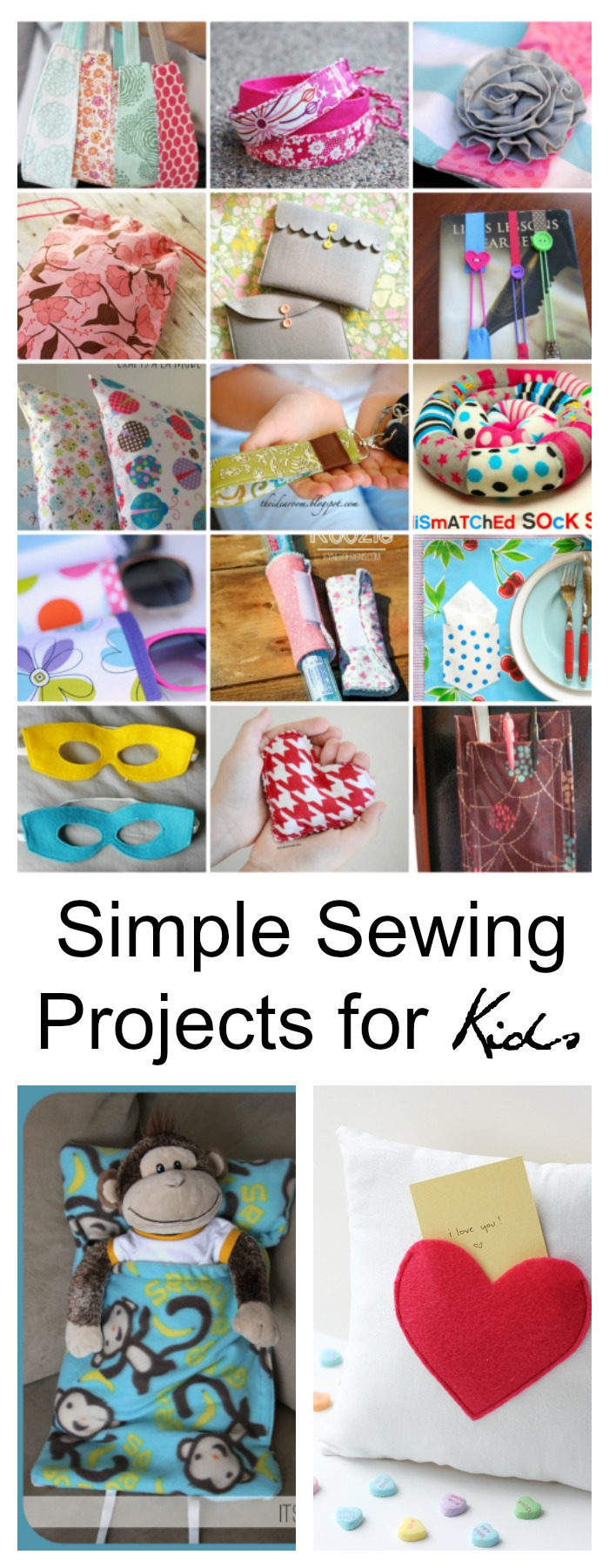 Simple Sewing Projects for Kids - The Idea Room