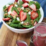 Strawberry Balsamic Vinaigrette Salad Dressing