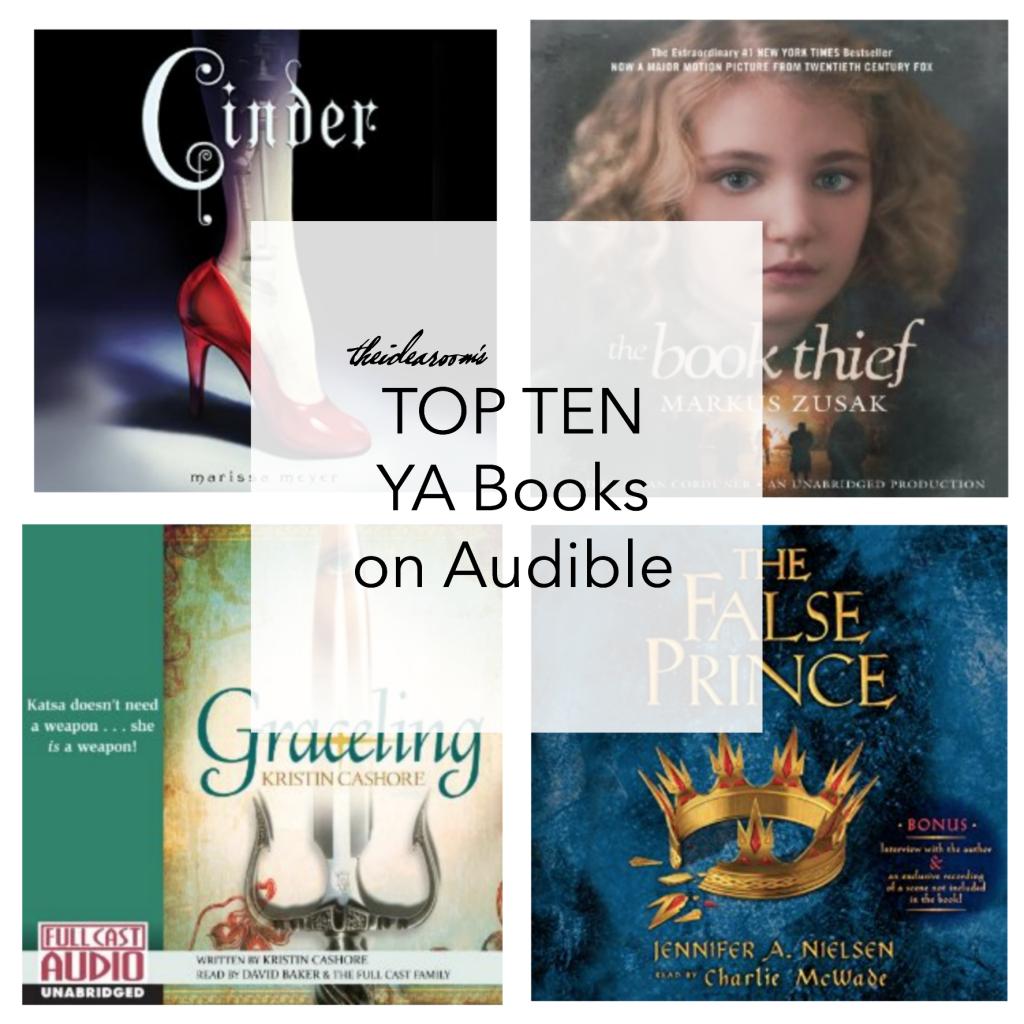 Top Ten YA Books on Audible
