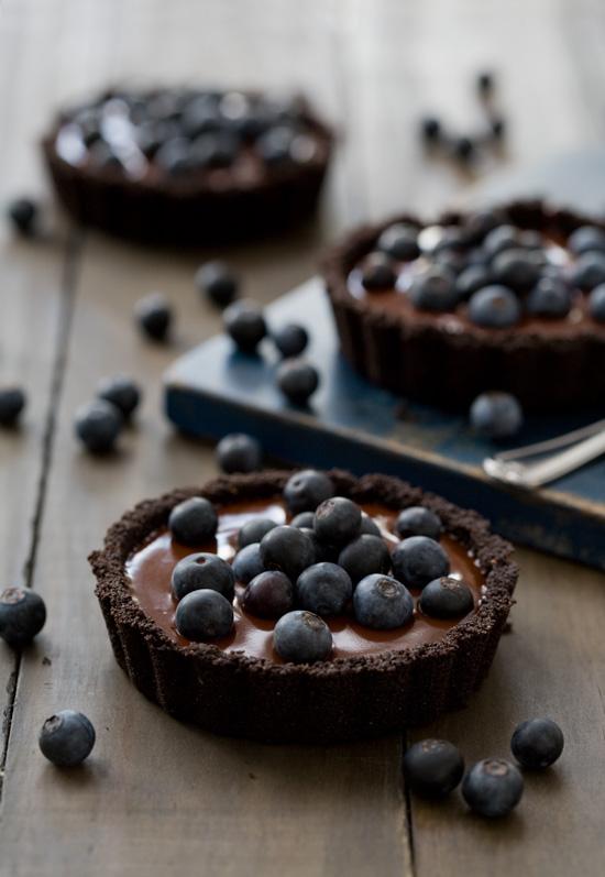no-bake-blueberry-truffle-tart