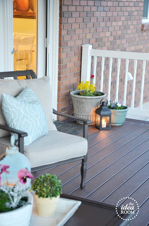 how to clean an outdoor deck