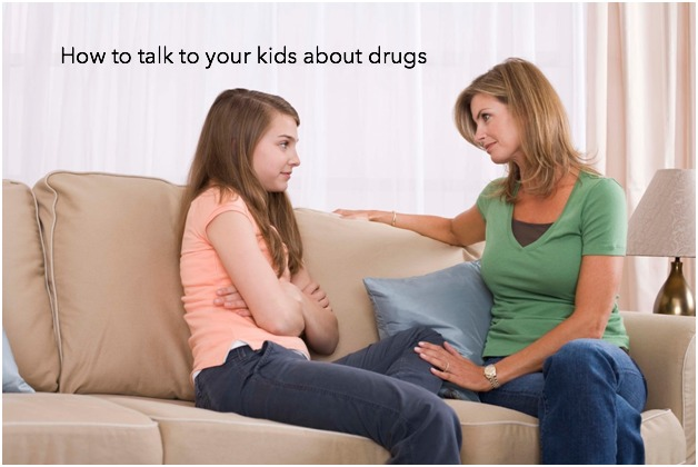 talk to your kids about drugs