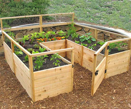 Counter Height Garden Boxes : Counter Height Garden Beds from Ana White