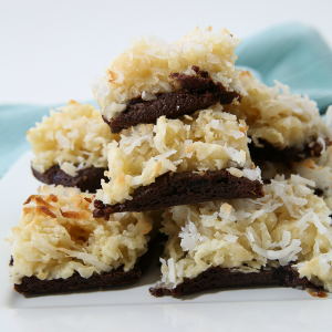 Coconut Brownie Squares