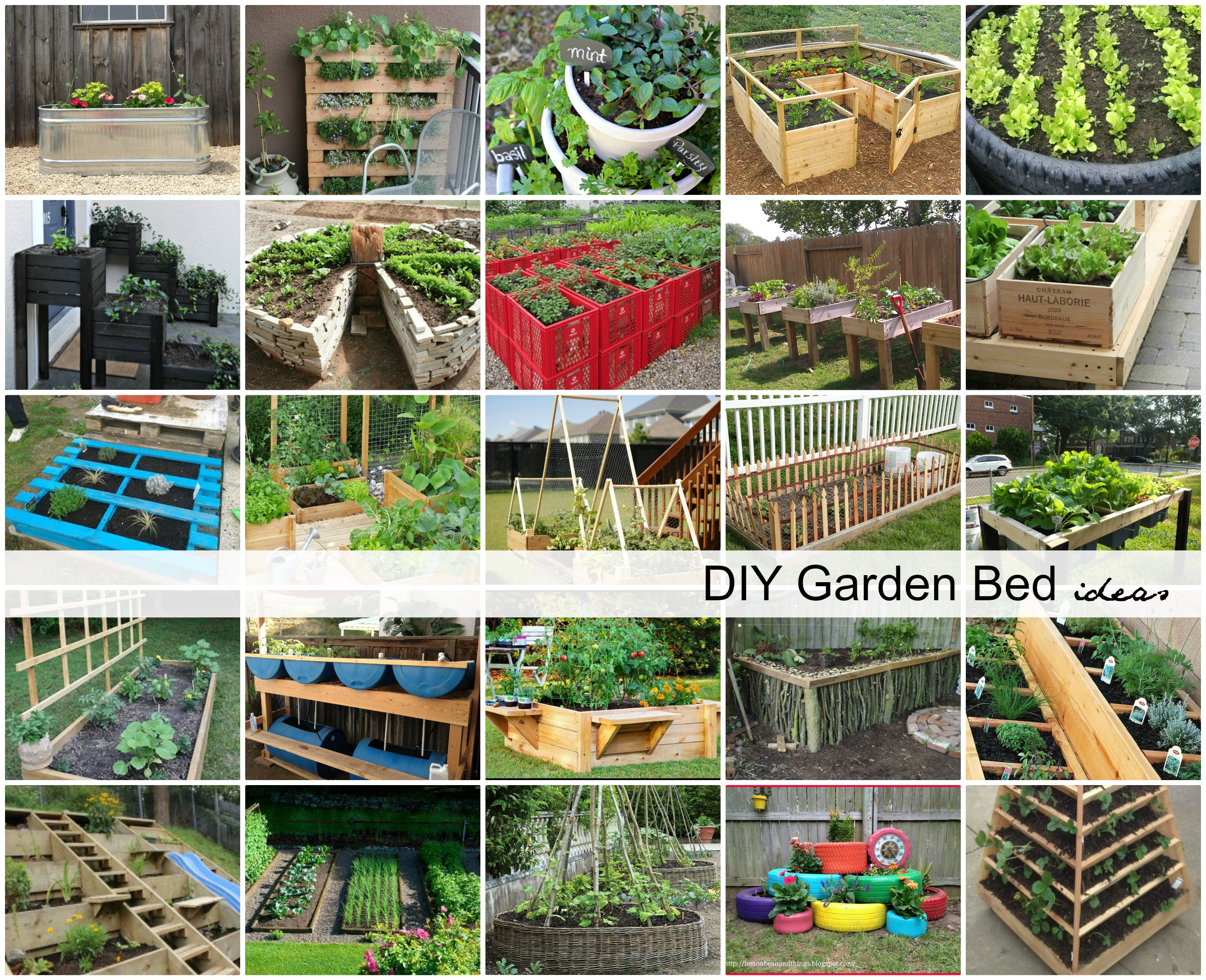 garden design with diy garden bed ideas the idea room with ideas for backyard landscaping from - Diy Garden Ideas