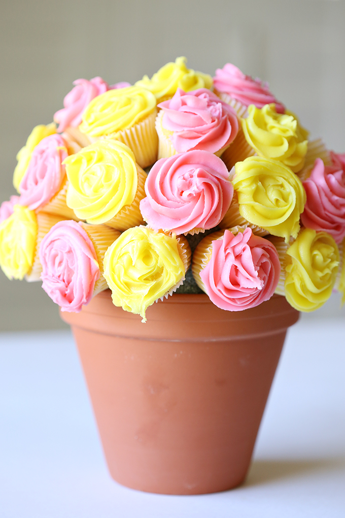 Mothers Day Cupcake Craft