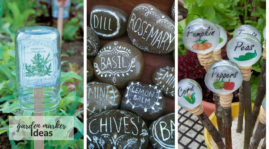 Garden Marker Ideas