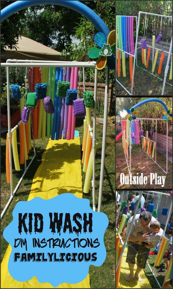 Summer Bucket List: Kid Wash from Familylicious