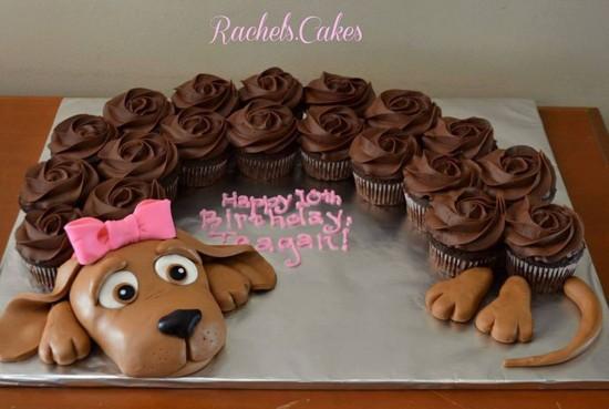 Pull-Apart-Puppy-Cupcake-Cake