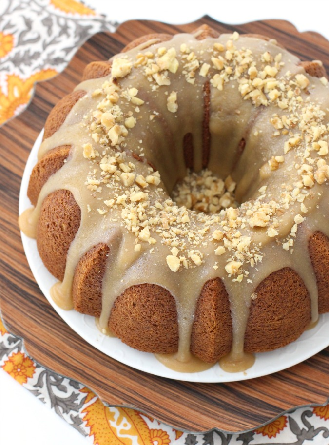 Apple Bundt Cake From Mix