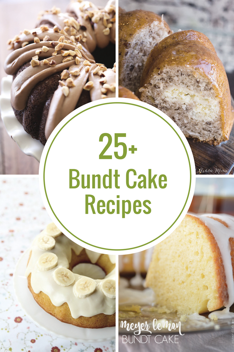 bundt cake recipes