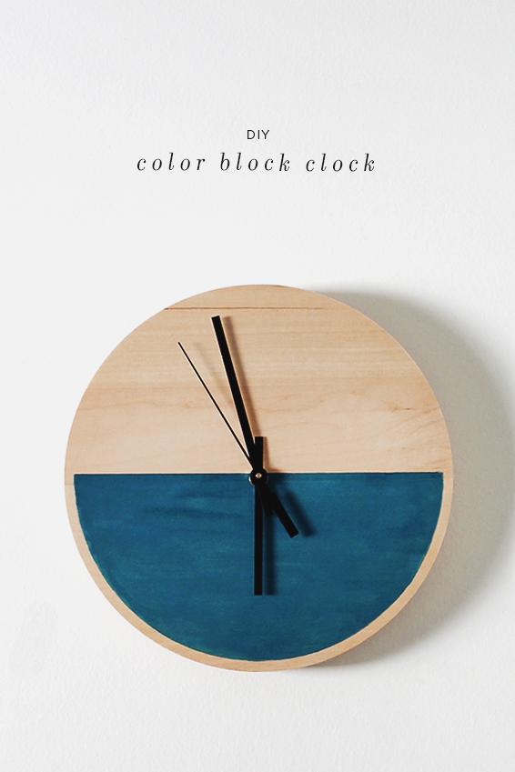 color-block-clock-diy1