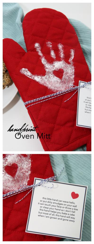 Handprint Oven Mitt - The Idea Room